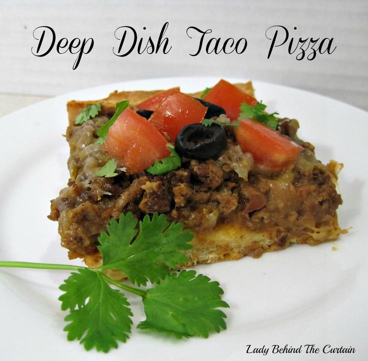 recept deep dish taco