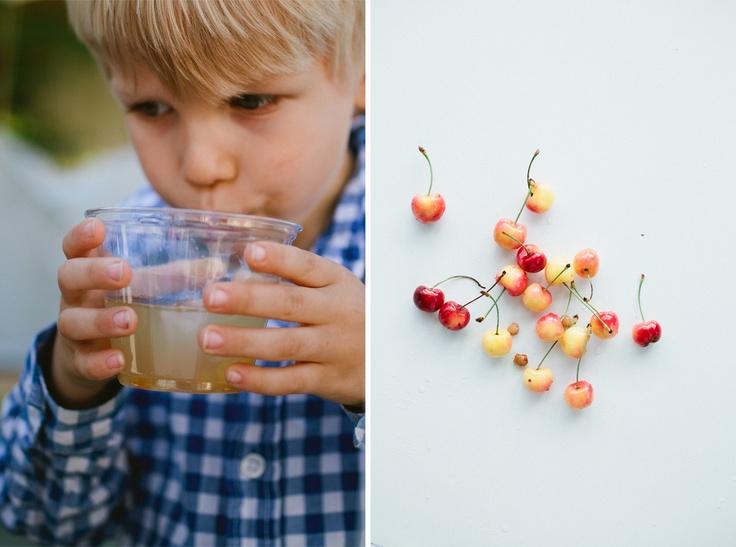 rosemary/cherry lemonade