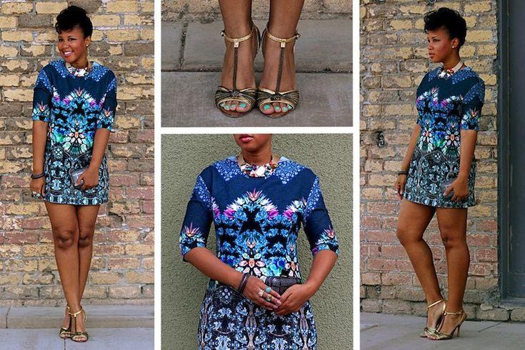 Simple Style Via Bellanaija Com Ankara Tins Pinterest