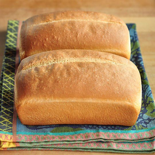 Basic White Sandwich Bread Makes 2 loaves 2 teaspoons active-dry yeast ...