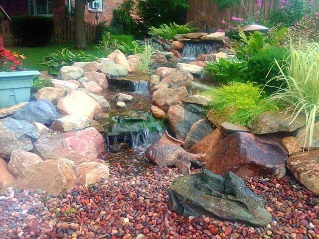Pondless Water Feature Garden Pinterest