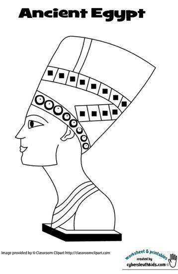 free coloring pages of canopic jars