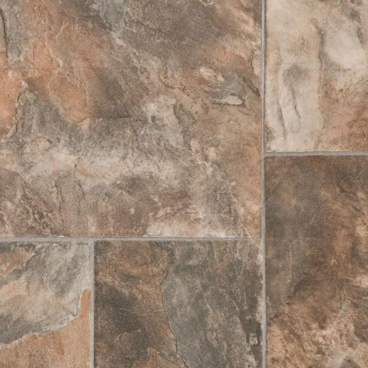 multi-size tiles and coordinating grout lines. Earthscapes flooring ...