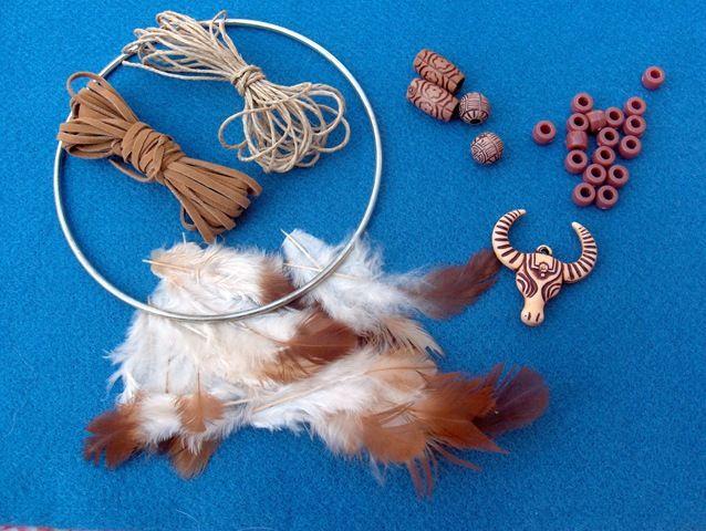 Dream catcher materials dream catchers pinterest for Materials to make a dreamcatcher