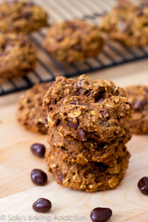 Healthy Oatmeal Raisinet Cookies by Sally's Baking Addiction. I think ...