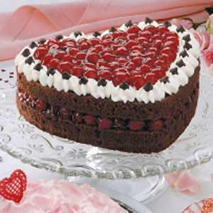 Sacher Torte Heart With Truffle Top Recipes — Dishmaps