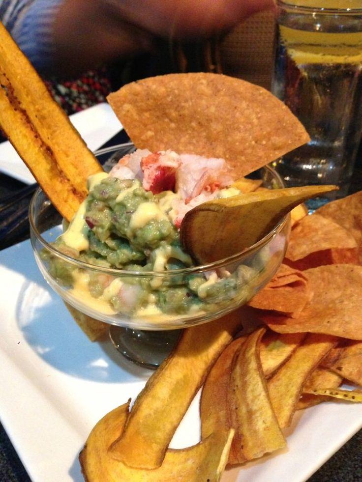 Lobster guacamole | Latin American Restaurant | Pinterest