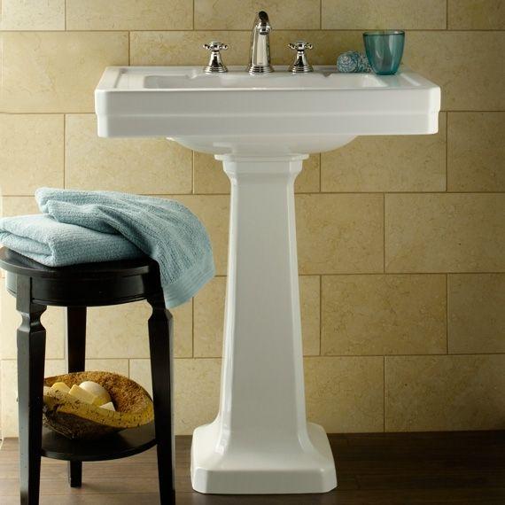 Porcher Pedestal Sink : Lutezia 28