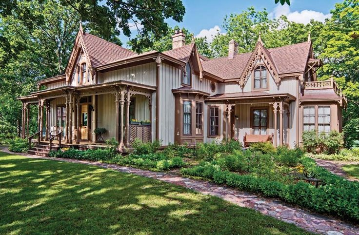 Gorgeous Gothic Revival Cottage Nicknamed Seven Gables In Rural