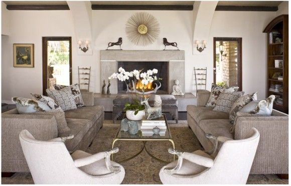 Pin by laura williamis on lounge pinterest - Khloe kardashian house interior ...