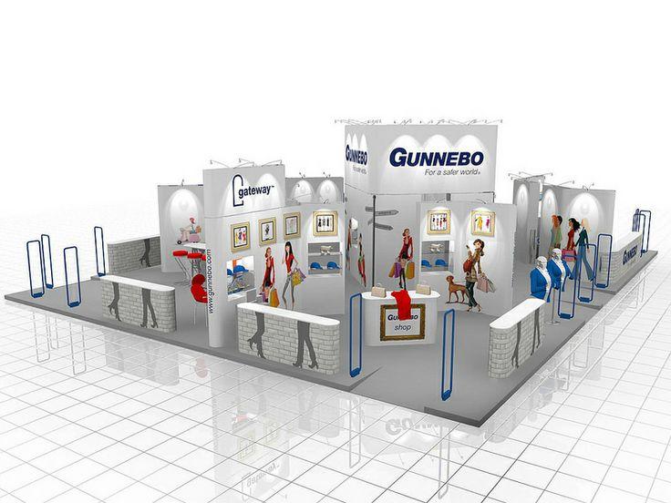 Modular Exhibition Stand Design (559)