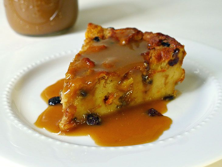 Citrusy Bread Pudding with Bourbon Sauce | Delicious Desserts | Pinte ...