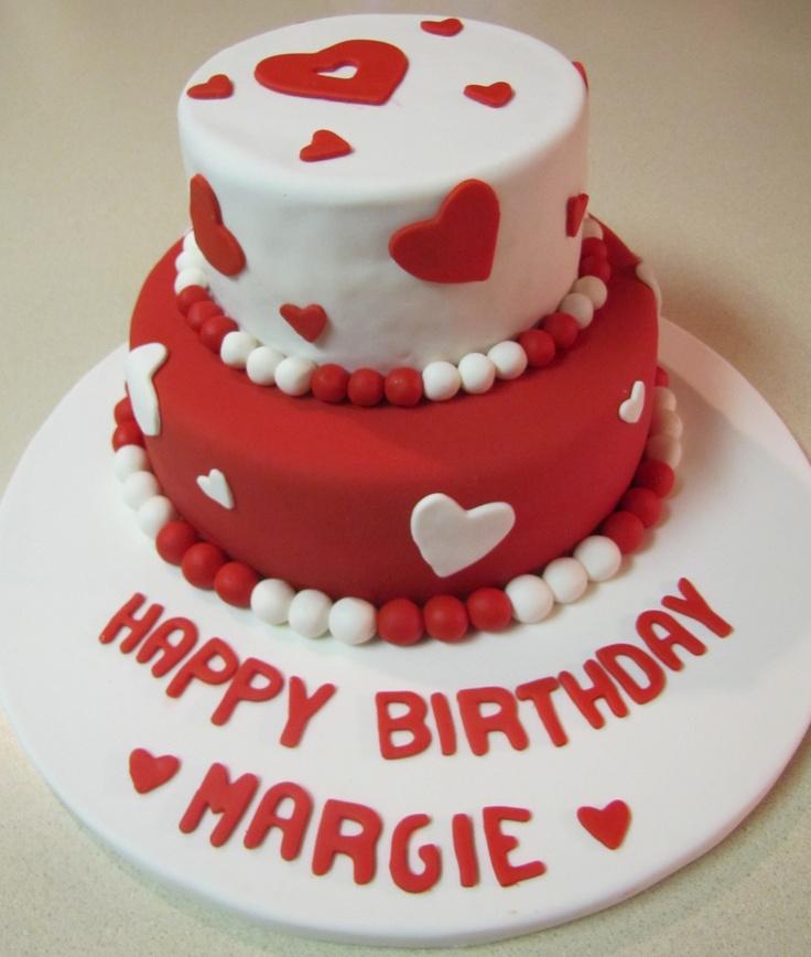 Valentine Birthday Cake Valentines birthday cake