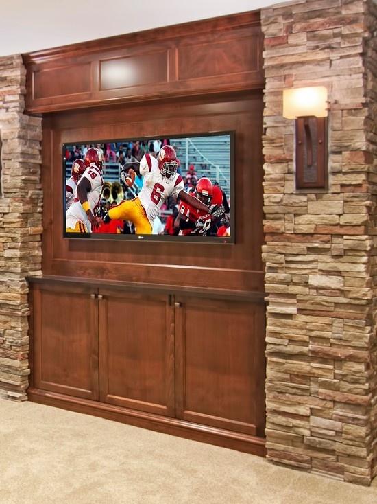 basement tv wall my future home pinterest