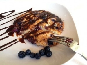 Blueberry Cottage Cheese Pancakes | Yummy Food | Pinterest