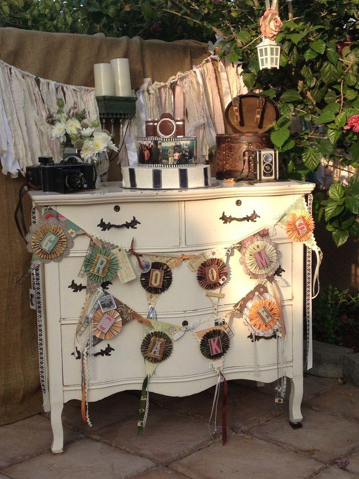 Vintage wedding decor country wedding pinterest
