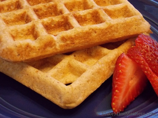 Multi-Grain-Waffles | Clean eating | Pinterest
