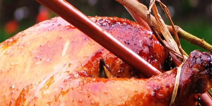 Tea Smoked Chicken with a tea glaze | Tea | Pinterest