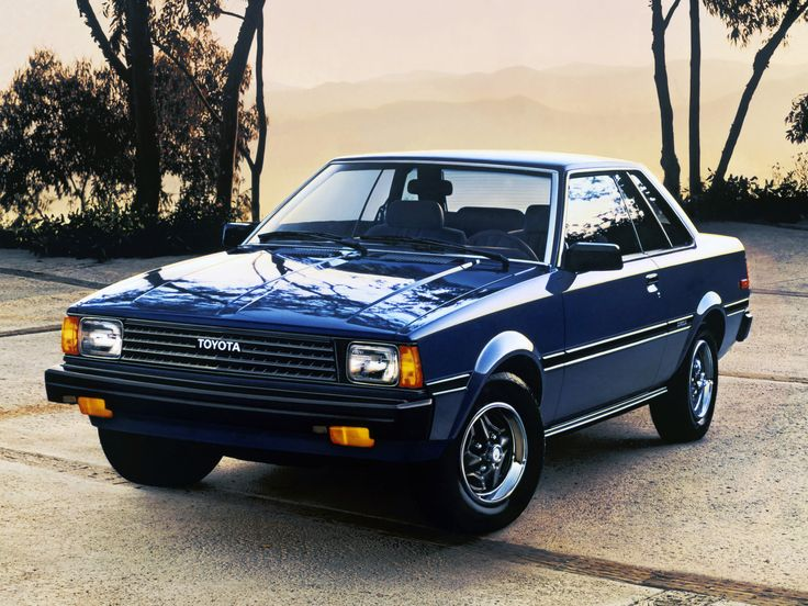 1980 83 Toyota Corolla Sr5 All Toyota Pinterest