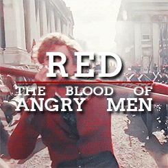 red and black- Les Mis  <3 BEST song <3