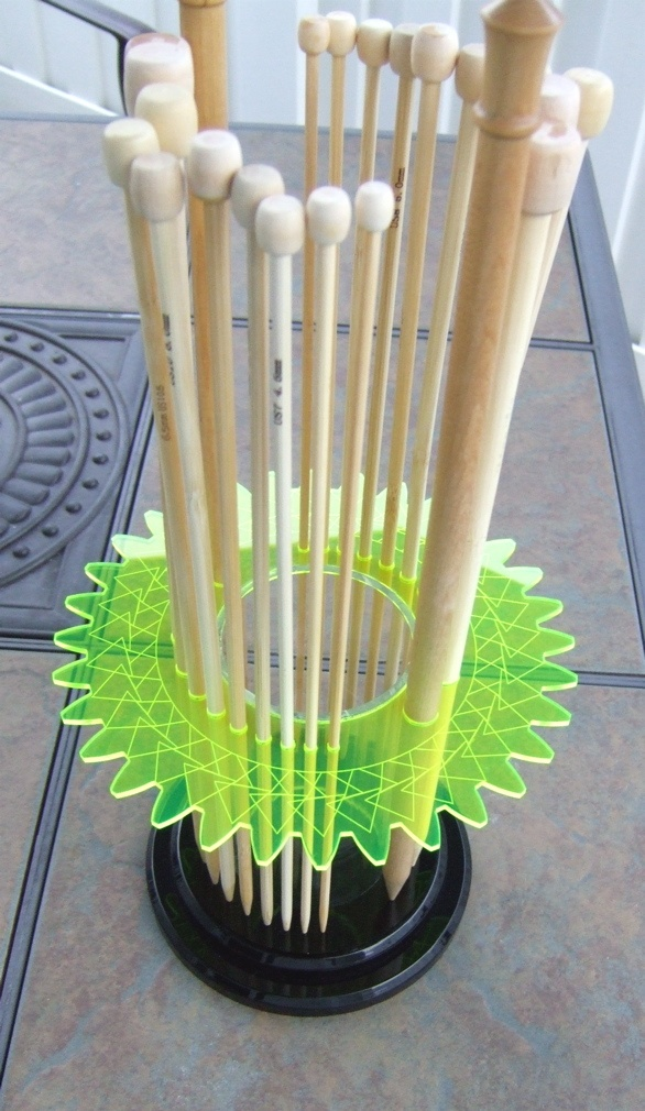 Knitting Pattern Needle Holder : Knitting Needle Holder Tricot Pinterest
