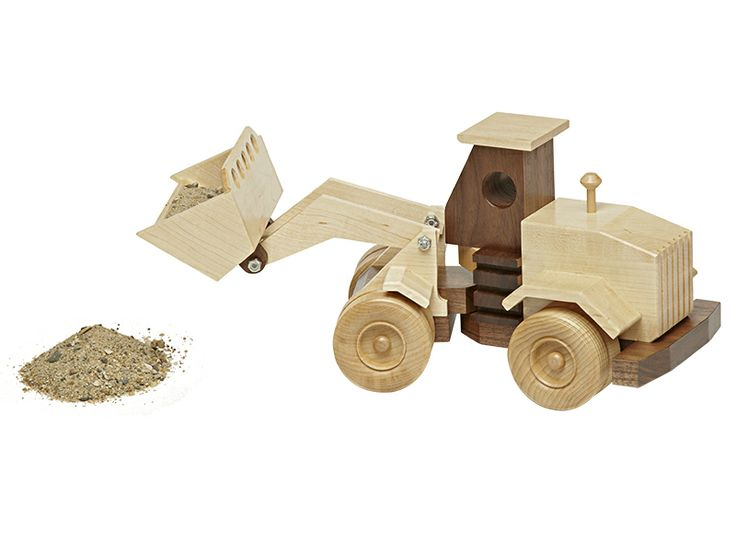 Wooden Front-End Loader | Wood Working Projects | Pinterest