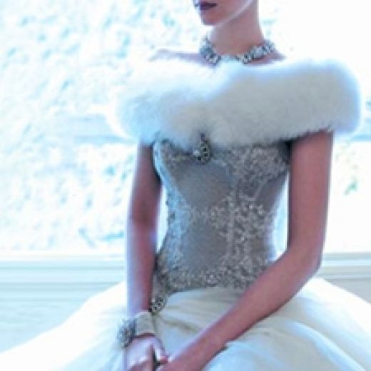 Fairytale winter wedding dress my fantasy wedding dress for Winter vintage wedding dresses