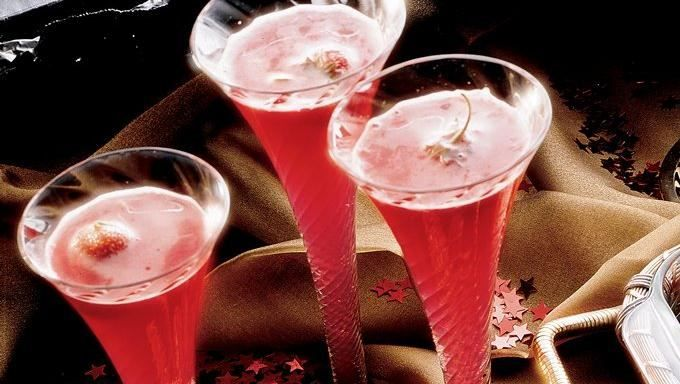 Strawberry Champagne Punch | Recipe