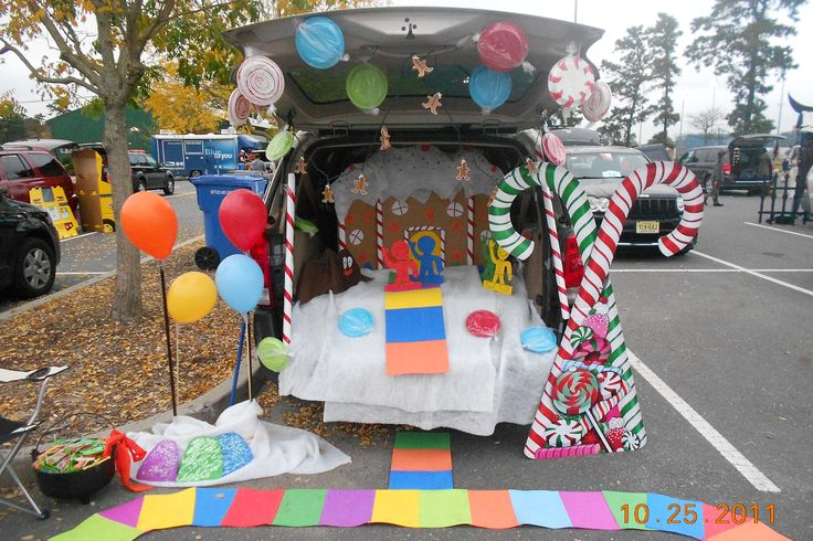 Candy Land Trunk or Treat Idea I did last year.
