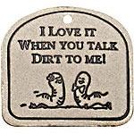 Dirt Talk Garden Plaque