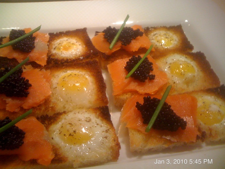 Toasts With Ramp Butter And Fried Quail Eggs Recipes — Dishmaps