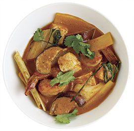 Thai Red Curry with Shrimp and Tofu | Recipe
