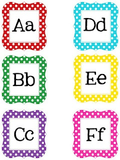 Printable letters and numbers  from technology rocks blog