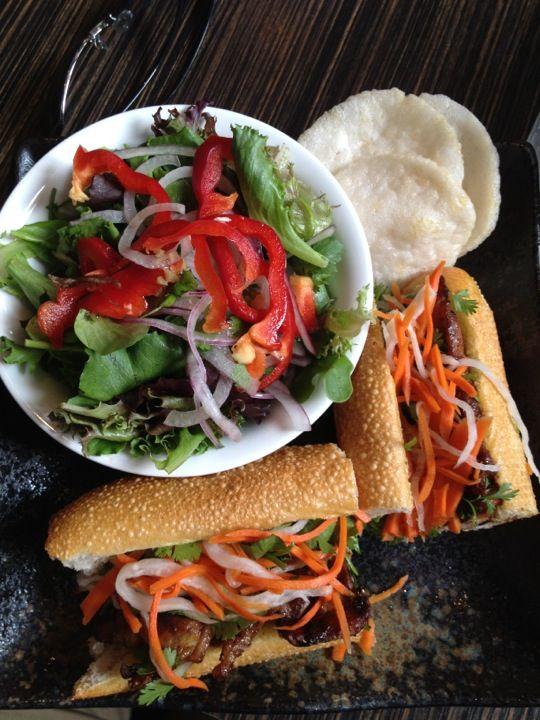 ... plates like papaya salad and fresh spring rolls (from Travel Portland