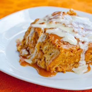 ... bread pudding w/ bourbon salted caramel sauce and bourbon vanilla bean