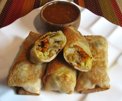 Baked Vegetable Egg Rolls | I want to cook! - Savory Edition | Pinter ...