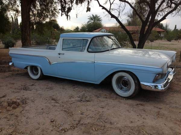1957 Ford Ranchero Craigslist