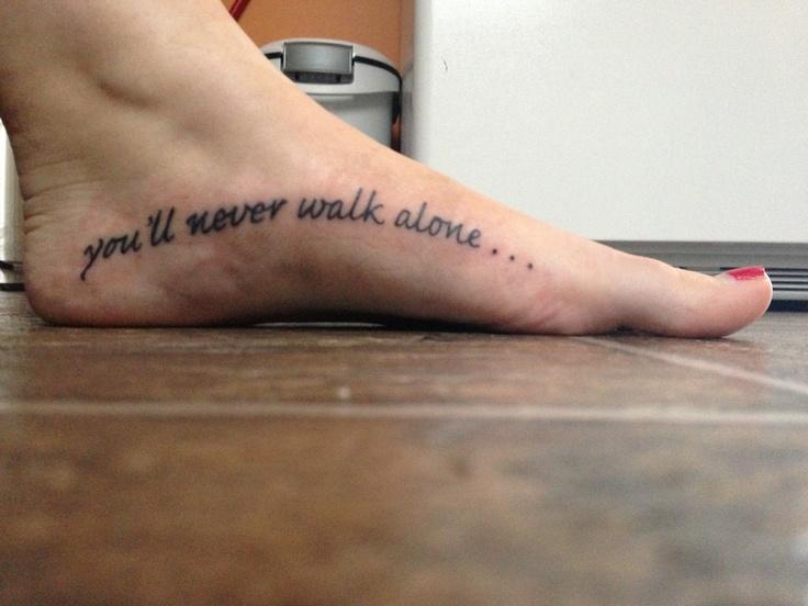 tattoo alone