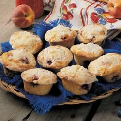 Mango Blueberry Muffins With Coconut Streusel | Recipe