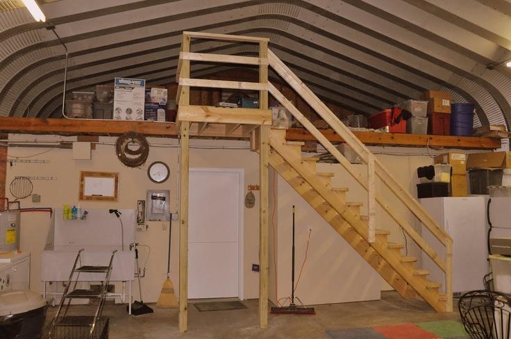 Building a camp with a loft joy studio design gallery for Diy garage loft