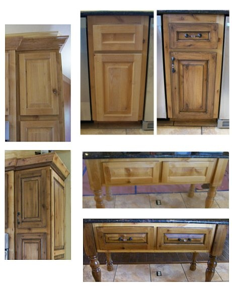 Alder cabinets with a faux finish kitchen cabinets pinterest
