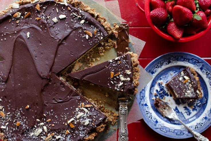 Chocolate Pretzel Tart | Good Eats! - Dessert | Pinterest