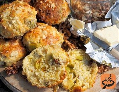Wensleydale Cheese, Leek & Walnut Scones | Recipe