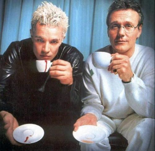 Spike and Giles (Buffy the Vampire Slayer)