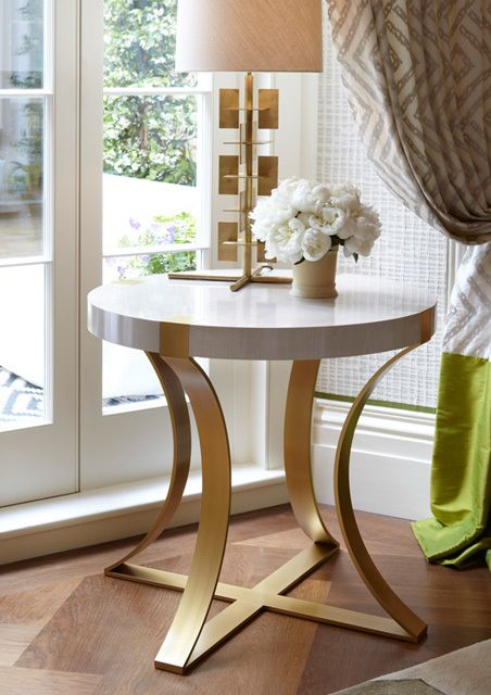 Mission style foyer design console table