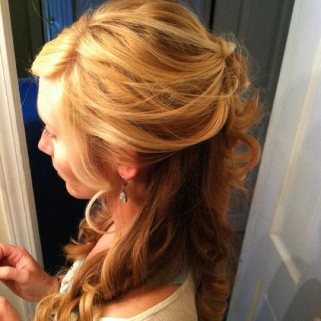 Wedding hair trial left side | Wuv, Twu Wuv | Pinterest