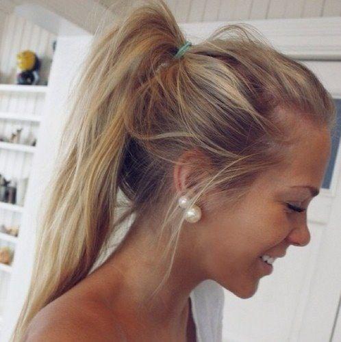 summer ponytail hairstyles