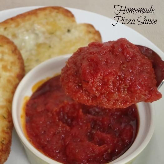 Homemade Pizza Sauce   Recipes   Pinterest