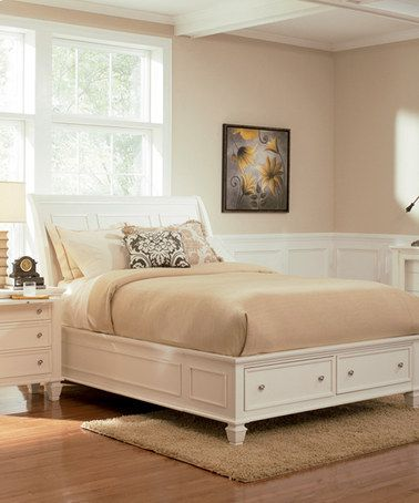 ... this #zulilyfind! White Tropical Three-Piece Bedroom Set #zulilyfinds