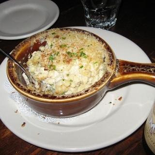 White Cheddar and Gruyere Mac & Cheese #recipe #dinner #cheese ...